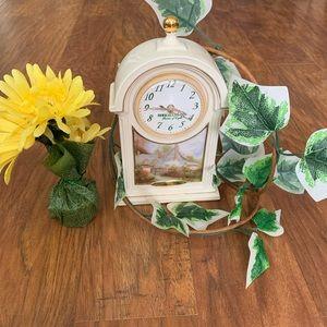 COPY - Thomas Kinkade Clock
